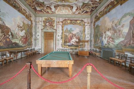Interni Di Villa Pisani : Villa pisani ville venete